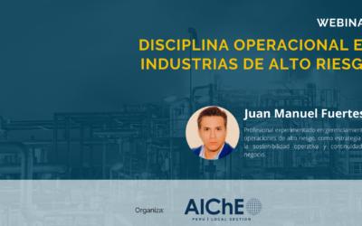 Disciplina Operacional en Industrias de Alto Riesgo